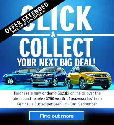 Peninsula Suzuki Click Collect August Hp